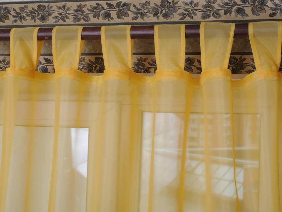 Сшить шторы на петлях