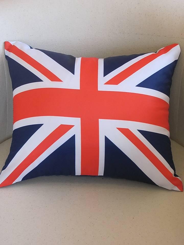 подушка с фотопечатью Британский флаг.