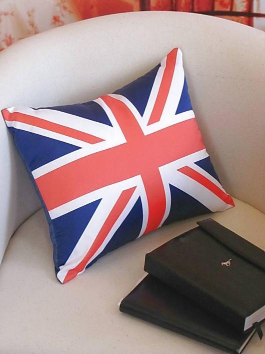 6000005. Артикул. в наличии. подушка с фотопечатью Британский флаг.