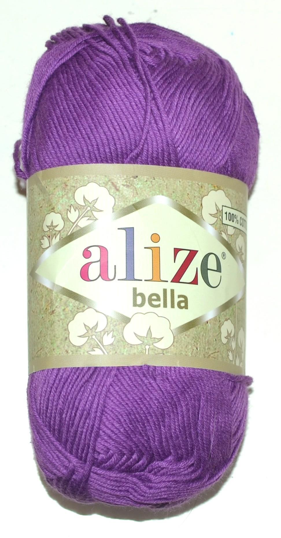 9eeb6c42a3b Купить ПРЯЖА ALIZE BELLA лиловый в интернет-магазине Домалетто ...