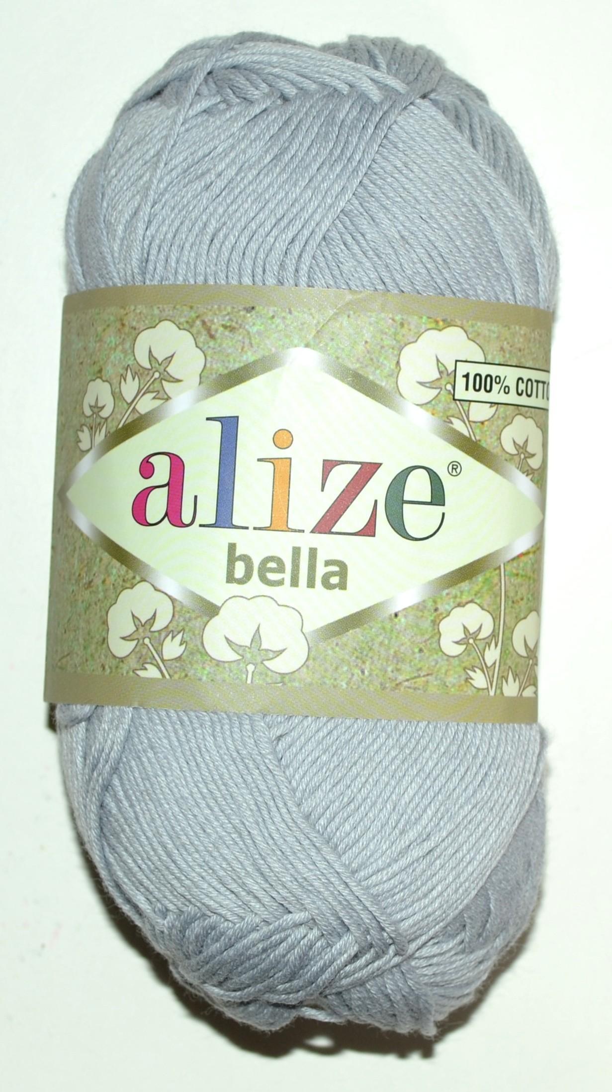 4998ecac121 Купить ПРЯЖА ALIZE BELLA светло-серый в интернет-магазине Домалетто ...